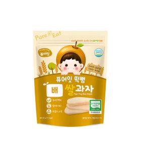 PURE-EAT Organic Pear Pop Rice Snack