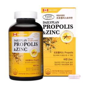 데일리플랜 프로폴리스아연 면역 항산화 복합 10월분