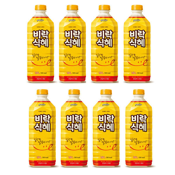 비락식혜1.8LX8/식혜/전통음료/음료/음료수 상품이미지
