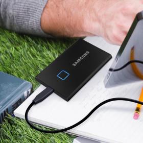 삼성 외장하드 SSD T7 500GB 공식인증 MU-PC500K/WW