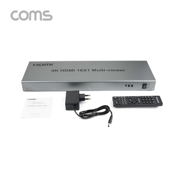 Coms BT927 HDMI 화면 분할기 / 16 Input / 1 Output 상품이미지