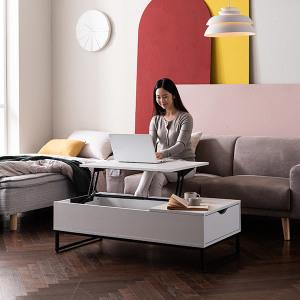 포르테 리프트업 소파 테이블