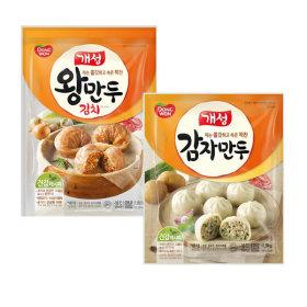 동원 개성 김치왕만두 1.82kg+감자만두1.9kg (총2봉)