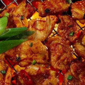 국내산 닭 매콤한 닭갈비 닭다리살 500gx4팩(총 2kg)