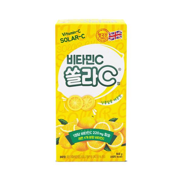 쏠라C정 레몬맛 20정 4박스 상품이미지