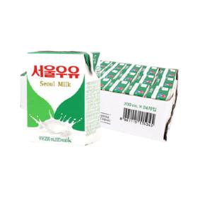 멸균우유 200ml x 24입 (1박스)