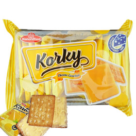 Korky Cheese Cracker Imported Cracker 100g Individually packaged product