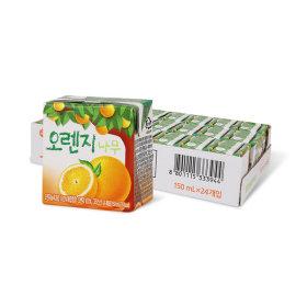 오렌지나무 150ml x 24입 (1박스)