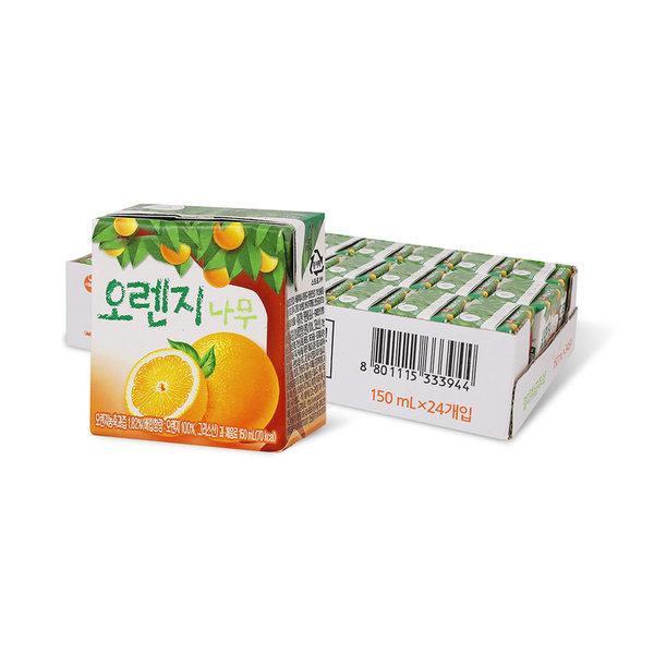 오렌지나무 150ml x 24입 (1박스) 상품이미지