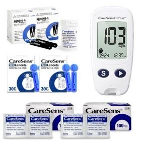 케어센스2 혈당측정기 풀세트 + 시험지 100매