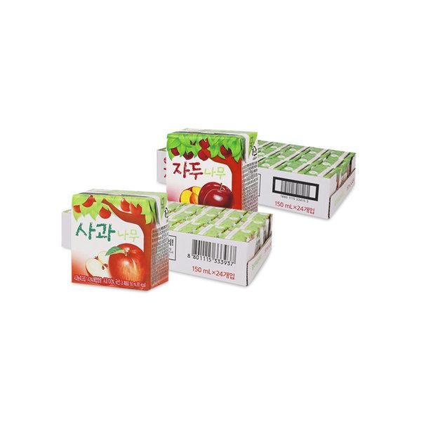사과나무/자두나무 150ml 24입+24입 (2박스) 상품이미지