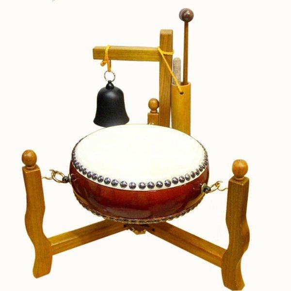 불교의식북 드럼 타악기 삼각북 8인치 절 종교 스님 상품이미지