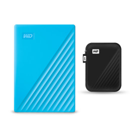 WD NEW MY PASSPORT 2TB 블루 외장하드