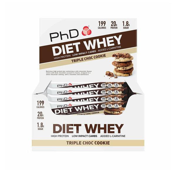 PhD 웨이 유청 단백질 바 트리플 초코쿠키 12개입 상품이미지