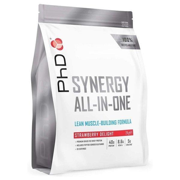 PhD 시너지 ISO 7 유청 단백질 파우더 스트로베리 2kg 상품이미지