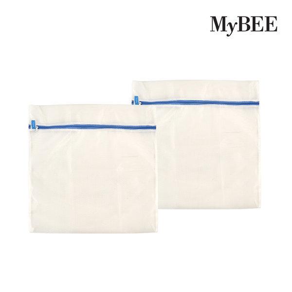무형광 아기세탁망 사각형M(60cm)x2개/빨래망 상품이미지