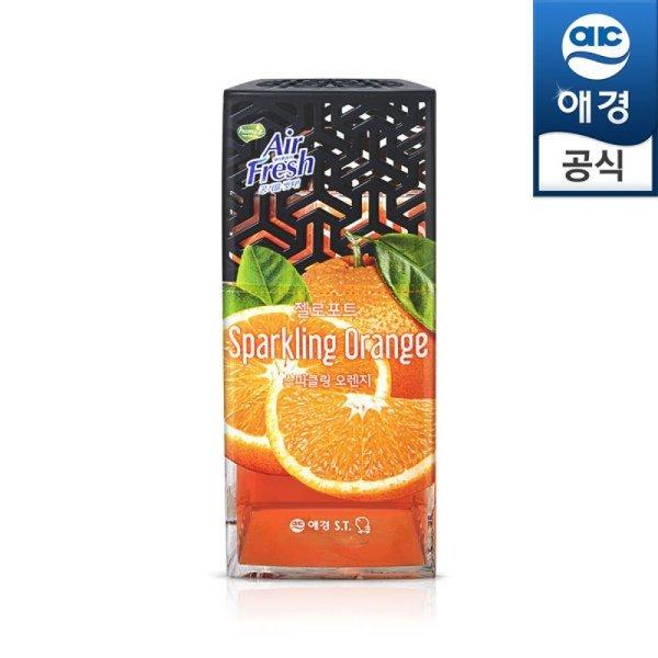애경 홈즈 에어후레쉬 젤로포트 스파쿨링 오렌지 120g 상품이미지