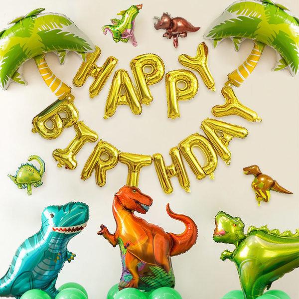 풍선세트 공룡 파티 기념일 이벤트 생일 홈파티 용품 상품이미지