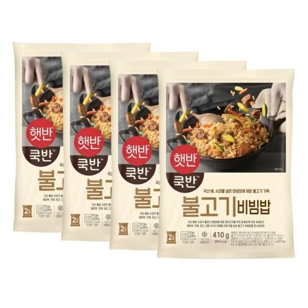 비비고 불고기비빔밥 410g x4개 (냉동) 상품이미지