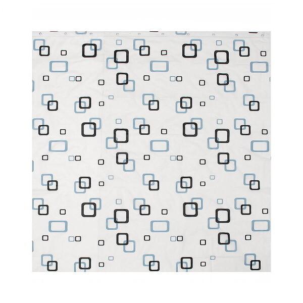 굿즈트리 스퀘어 패턴 샤워커튼(180x180cm) 상품이미지