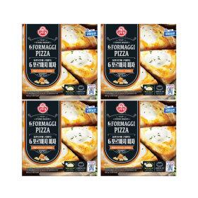 냉동 6 포르마지 피자 405g X 4개