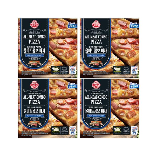 냉동 올미트콤보 피자 425g X 4개 상품이미지