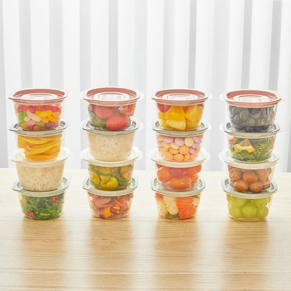 쿡밥 275ml 16개 SET 전자레인지 냉동밥 용기/간편용기 상품이미지