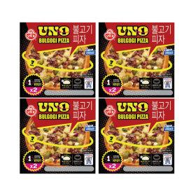 냉동 불고기 피자 UNO 180g2입 X 4개