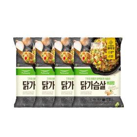 풀무원 7가지 야채와 닭가슴살볶음밥 450g 4봉(8인분)