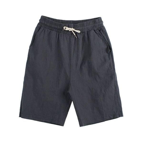 (오너클랜) 남여공용 봄여름 데일리 패션 의류 린넨 원단 5부바지 상품이미지