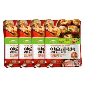 풀무원 얇은피꽉찬속 김치만두 440g 6봉