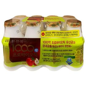 남양 1000억 프로바이오틱(사과) 130ml x 8입