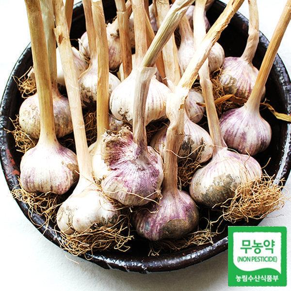 서산 무농약 마늘 햇 통마늘 3kg 대 상품이미지
