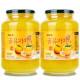 꿀유자차A 2kg+2kg 총4kg/전용포장: 새콤달콤 유자차~