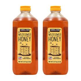 2개 Kirkland 코스트코 야생화 와일드플라워 꿀 허니 아르헨티나 A등급 2.27 kg 빠른직구