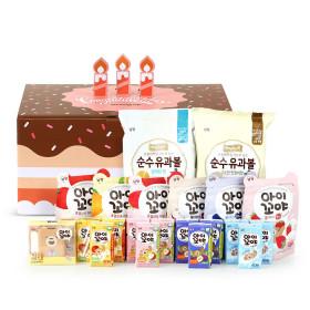 아이꼬야 유기농 주스+과자간식 선물세트