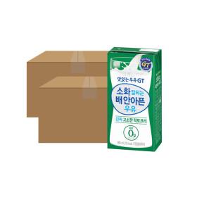 맛있는우유GT 고소한 락토프리 180ml 24입