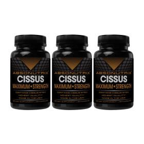 3개 Absonutrix 시서스 가루 추출물 1600 mg 120 캡슐