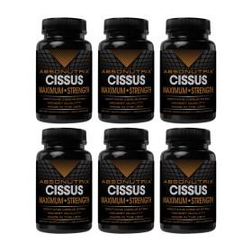 6개 Absonutrix 시서스 가루 추출물 1600 mg 120 캡슐