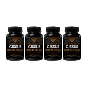 4개 Absonutrix 시서스 가루 추출물 1600 mg 120 캡슐