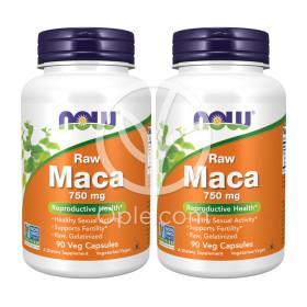 2개 Now Foods 마카 Maca 750 mg 90 베지 캡슐