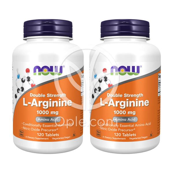 2개 Now Foods 엘 아르기닌 L Arginine 1000 mg 120 타블렛 상품이미지