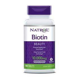 NATROL 비오틴 Biotin 바이오틴 10000 mcg 100 타블렛 빠른직구