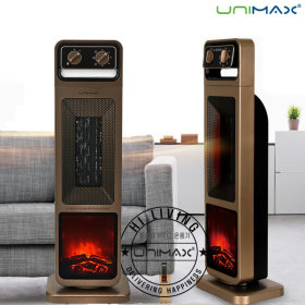 PTC 스탠드 사각 전기 온풍기 히터 난로 UMP-3100FG