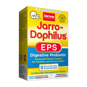 Jarrow 50억 유산균 도피러스 EPS 120 베지캡슐 실온보관 프로바이오틱스 빠른직구