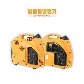 가솔린 방음형발전기 캠핑발전기 푸드트럭1KW RG1000I