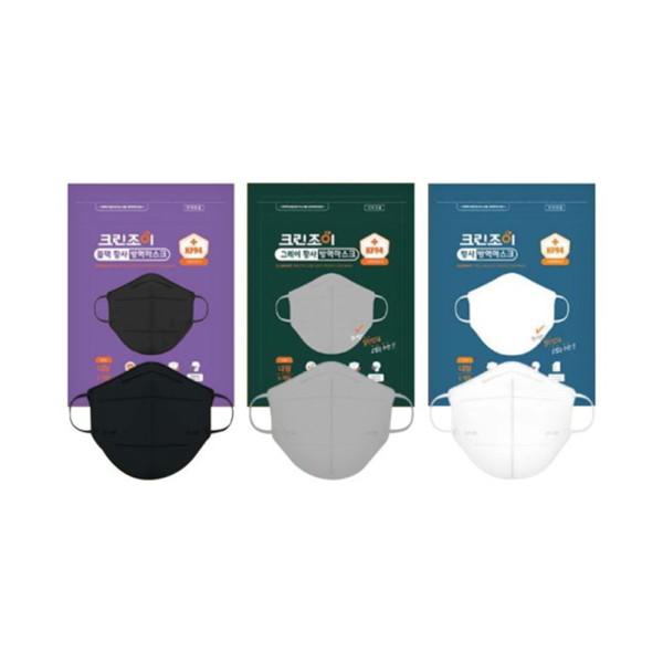 크린조이   대형100매  새부리형 KF94마스크 (색상선택) 상품이미지