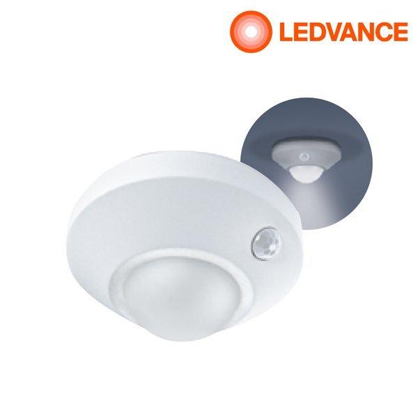 오스람 레드밴스 LED 센서등 무선 휴대용 원형 다용도 현관 복도 천장 상품이미지