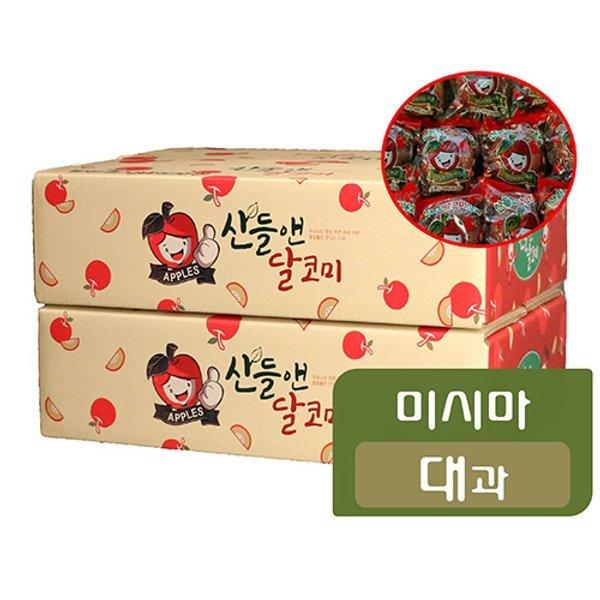 미시마 대과 산들앤 달코미 세척사과 2 box 총 6kg 상품이미지