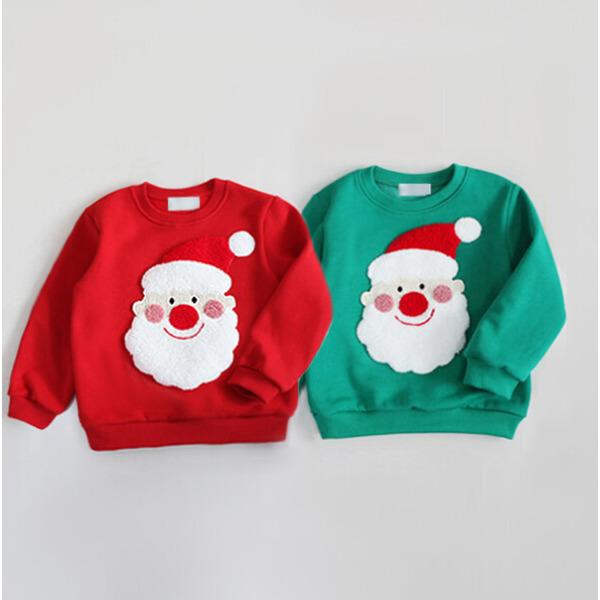 아동 루돌프 맨투맨 기모티 산타 크리스마스 단체티 상품이미지